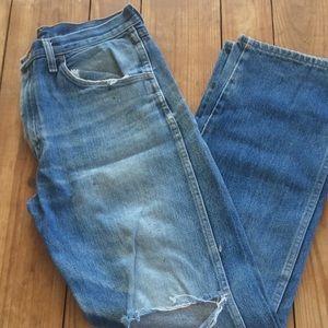 33x32 Vintage Rustler Jeans